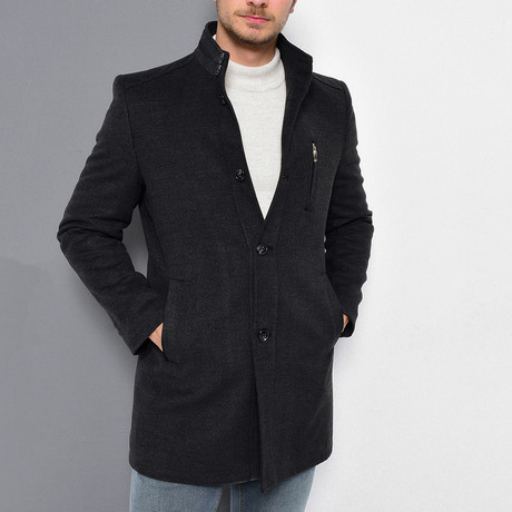 Brazil Overcoat // Anthracite (Small)