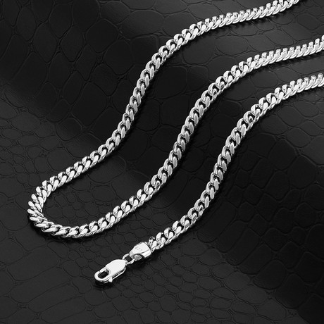 """Miami Cuban Link Chain Necklace // 5mm (18"""" // 31g)"""