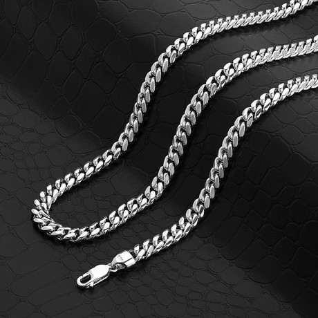 """Miami Cuban Link Chain Necklace // 6mm (18"""" // 45g)"""