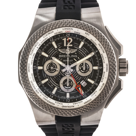 Breitling Bentley GMT Lightbody B04 Chronograph Automatic // EB043210/M533 // Pre-Owned