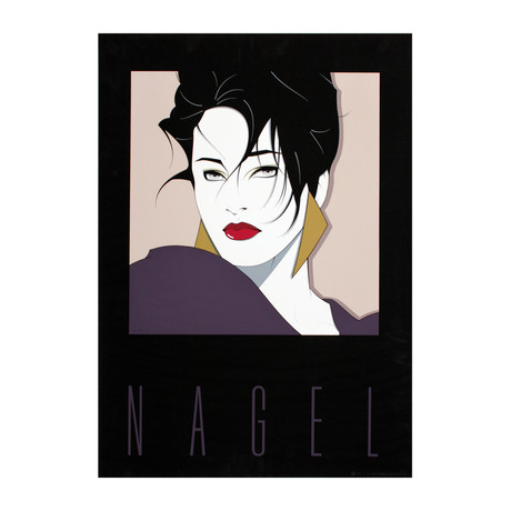 Commemorative No. 1 // Patrick Nagel // 1984 Serigraph