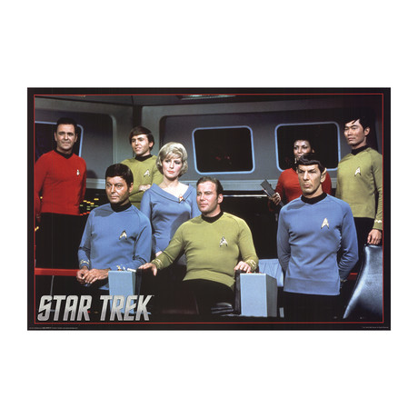 Star Trek // 2012 Offset Lithograph