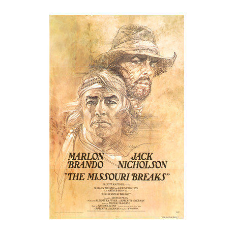 The Missouri Breaks // 1976 Offset Lithograph