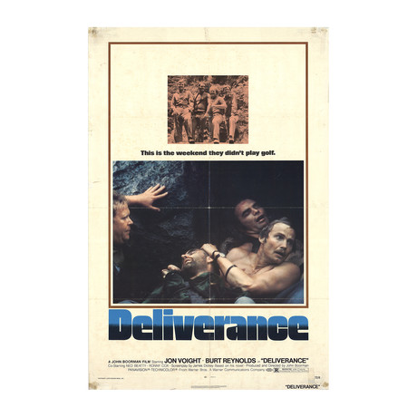 Deliverance // 1972 Offset Lithograph