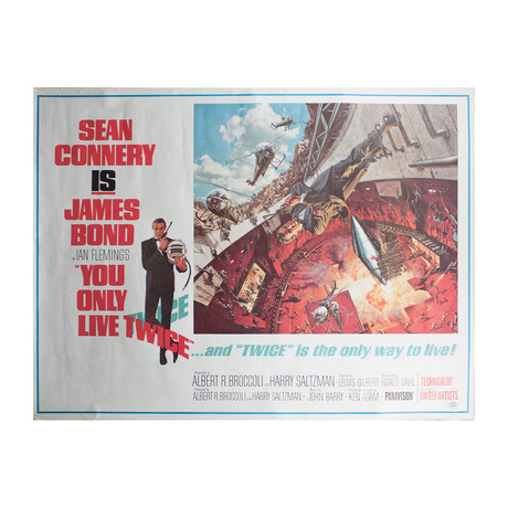 James Bond: You Only Live Twice // Frank McCarthy // Offset Lithograph