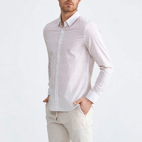 Sorrento Button-Up // Beige (XS)