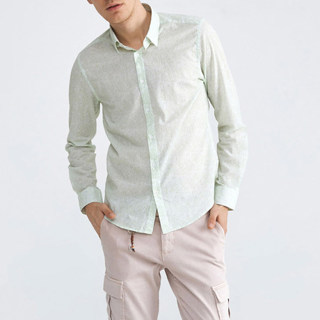 Sorrento Button-Up // Mint (XS)