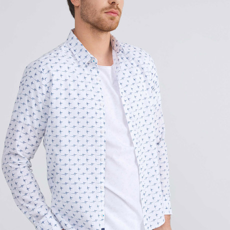 Cotton Button-Up // White (XS)
