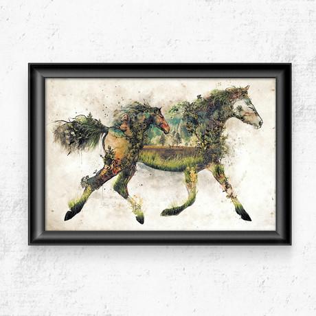 """Horse (11""""W x 17""""H)"""