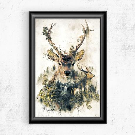 """Deer (11""""W x 17""""H)"""