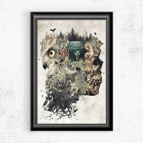 "Forest Lake Dreamer (11""W x 17""H)"