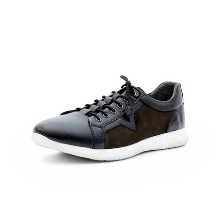 Kyran Low Top Sneakers // Navy Blue (Euro: 40)