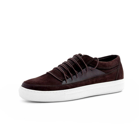 Victor Low Top Sneakers // Burgundy (Euro: 40)