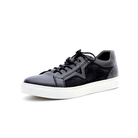 Antonio Low Top Sneakers // Black (Euro: 40)