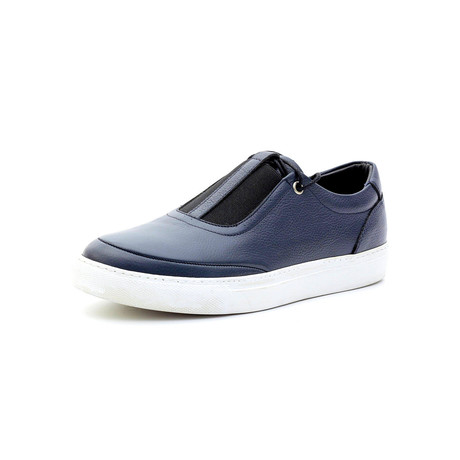 Reuben Low Top Sneakers // Navy Blue (Euro: 40)
