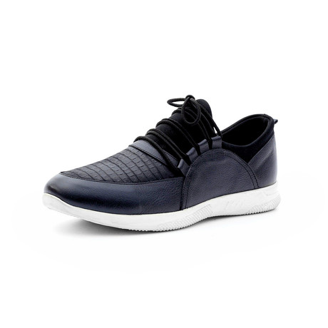 Warren Low Top Sneakers // Navy Blue (Euro: 40)