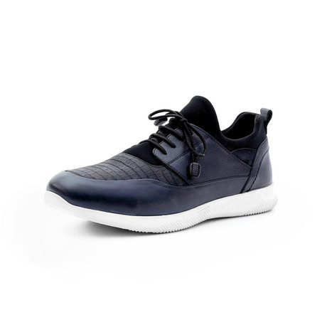 Clayton Low Top Sneakers // Navy Blue (Euro: 40)