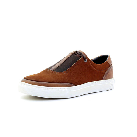Jamal Low Top Sneakers // Cinnamon (Euro: 40)