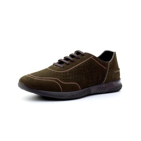 Marc Low Top Sneakers // Dark Green (Euro: 40)