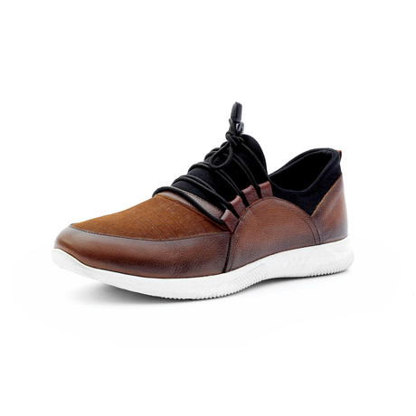 Abdullah Low Top Sneakers // Tobacco (Euro: 40)