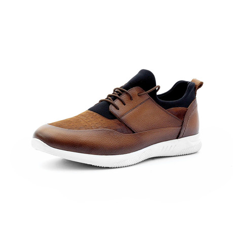 Sebastian Low Top Sneakers // Tobacco (Euro: 40)