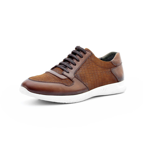 Ibraheem Low Top Sneakers // Tan (Euro: 40)