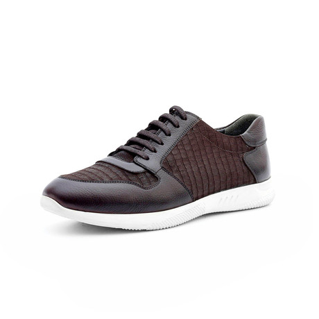 Lloyd Low Top Sneakers // Brown (Euro: 40)