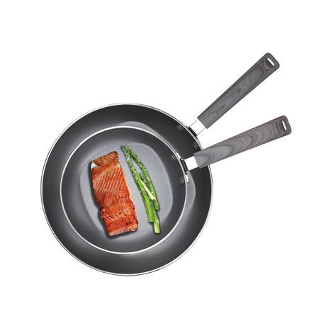 """Frying Pan Set // 8"""" + 12"""" Frypan"""