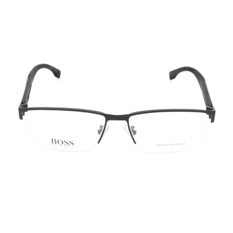 Men's 0903-KCQ Optical Frames // Matte Black + Carbon Black
