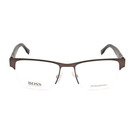 Men's 0770-QMS Optical Frames // Matte Brown