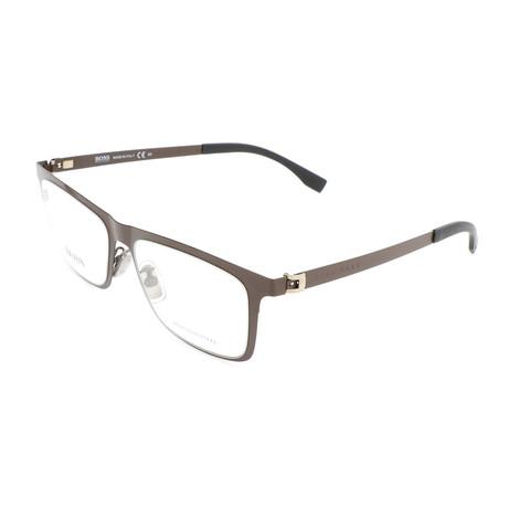 Men's 0862-U2S Optical Frames // Matte Brown