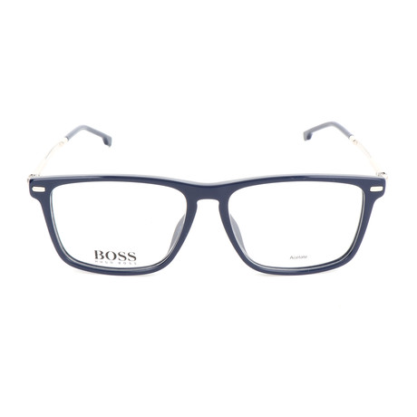 Men's 0931-PJP Optical Frames // Blue + Silver