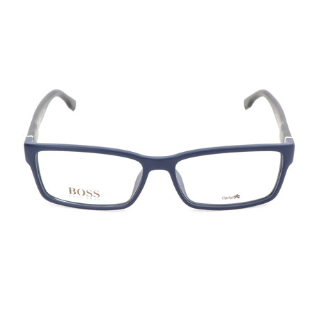 Men's 0797-QNZ Optical Frames // Blue