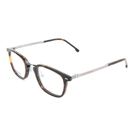 Men's 1057-086 Optical Frames // Dark Havana