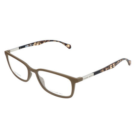 Men's 0827-YWP Optical Frames // Brown + Havana