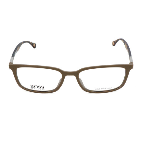 Men's 0827-YWP Optical Frames // Brown + Havana