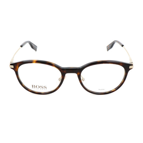 Men's 0626-FSH Optical Frames // Havana + Gold