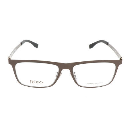Men's 0862-U2S Optical Frames // Matte Brown