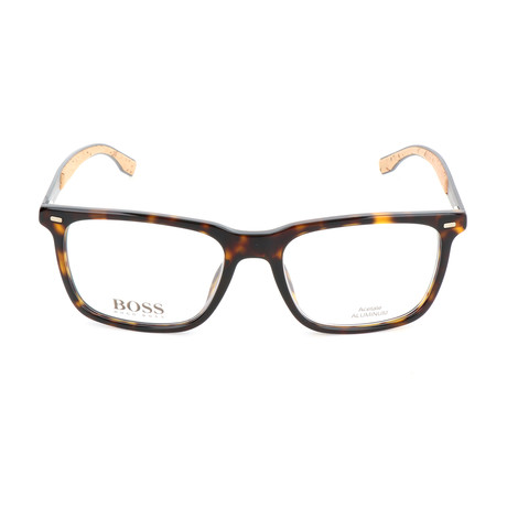 Men's 0884-0R6 Optical Frames // Havana + Matte Dark Ruthenium