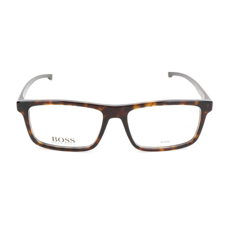 Men's 0876-086 Optical Frames // Dark Havana