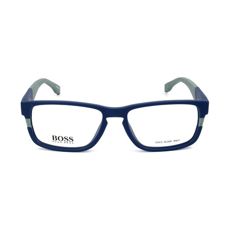 Men's 0917-1X4 Optical Frames // Matte Blue + Gray