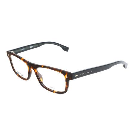 Men's 0928-N9P Optical Frames // Matte Havana + Black
