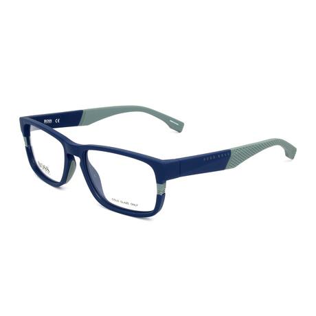 Men's 0917-1X4 Optical Frames // Matte Blue + Gray
