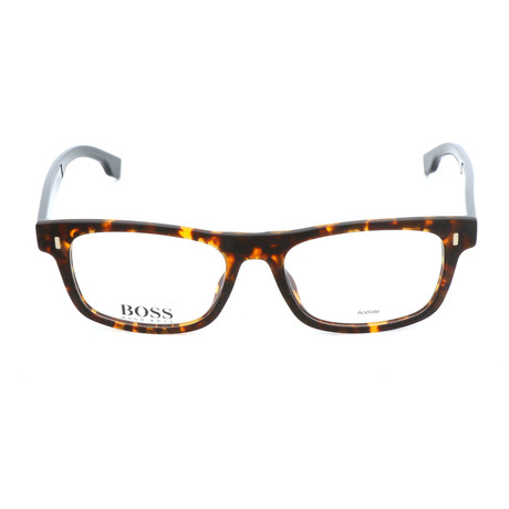 Men's 0928-N9P Optical Frames // Matte Havana + Black