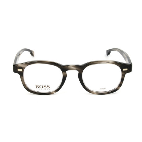Men's 1002-PZH Optical Frames // Striped Gray