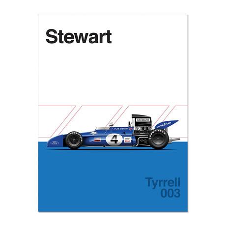 British Blue // Tyrell 003