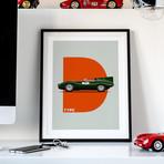 British Class // D-Type Motorsport Poster