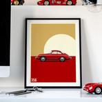 Vintage Excellence // 356 Car Poster