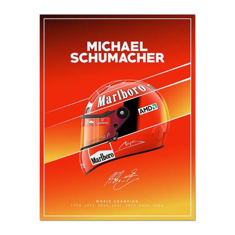 Legend of the Circuits // Schumacher Helmet