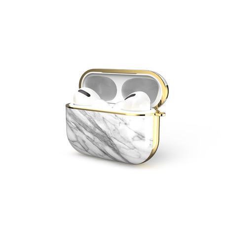 Gaze Airpods Pro Marble Case // White